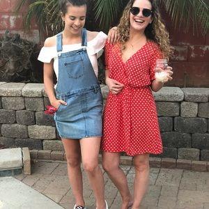 Ba&sh Red Dress